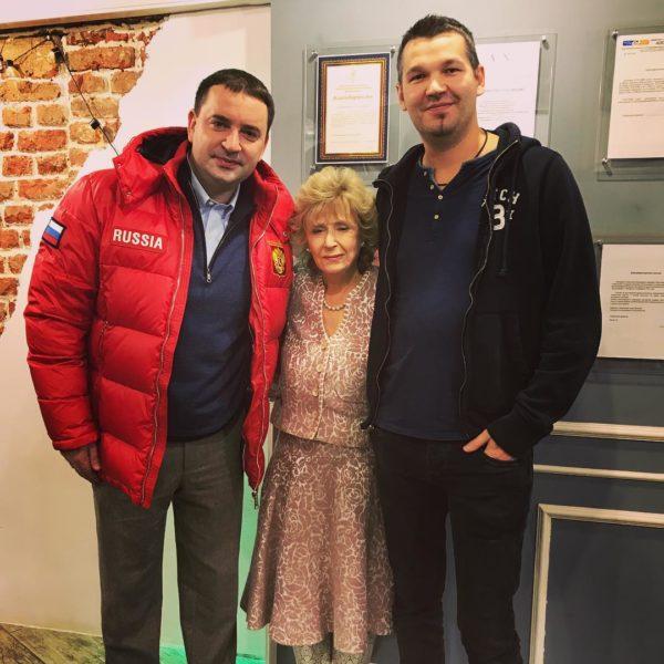 Леонид Закошанский и Регина Дубовицкая